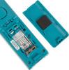 Радиотелефон PANASONIC KX-TGC310RUC,  белый и голубой вид 4