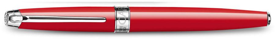 Ручка роллер Carandache Leman (4779.770) Scarlet red lacquered SP подар.кор.