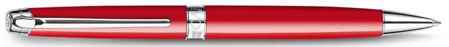 Ручка шариковая Carandache Leman (4789.770) Scarlet red lacquered SP подар.кор.