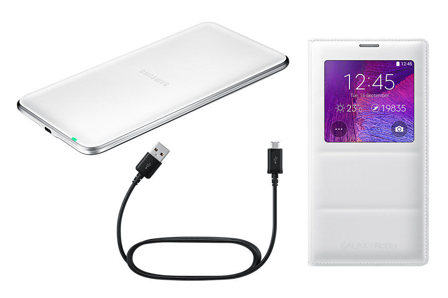 Беспроводное зарядное устройство SAMSUNG EP-KN910IWRGRU,  0.8A,  белый