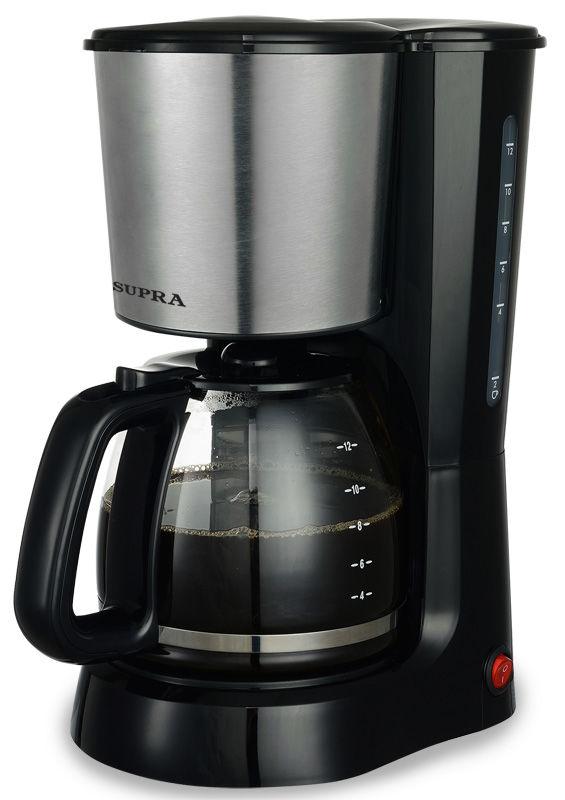 Кофеварка SUPRA CMS-1501,  капельная,  черный  [6985]