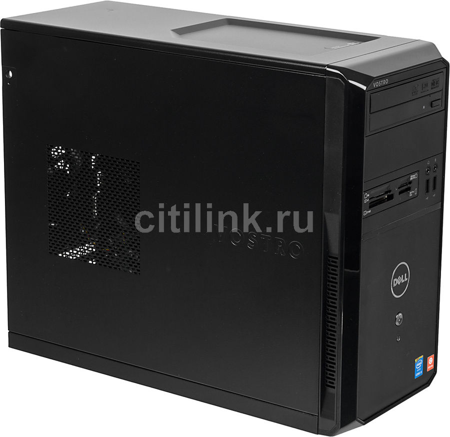Компьютер  DELL Vostro 3900,  Intel  Core i3  4150,  DDR3 4Гб, 500Гб,  Intel HD Graphics 4400,  DVD-RW,  CR,  Ubuntu,  черный [3900-8314]