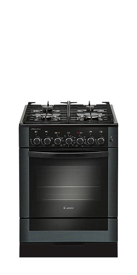 Газовая плита GEFEST ПГЭ 6502-02 0044,  электрическая духовка,  черный