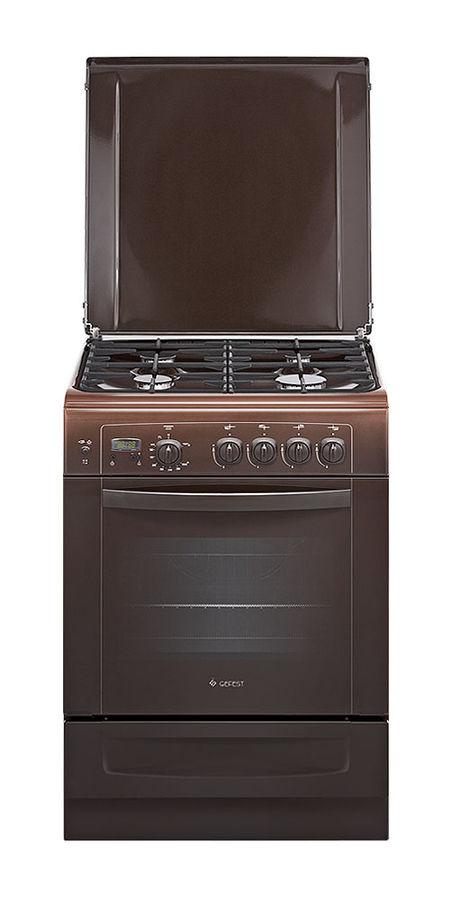 Газовая плита GEFEST 6100-03 0001,  газовая духовка,  коричневый [пг 6100-03 0001]