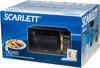 Микроволновая Печь Scarlett SC-MW9020S01D 20л. 700Вт черный/лесной орех вид 8
