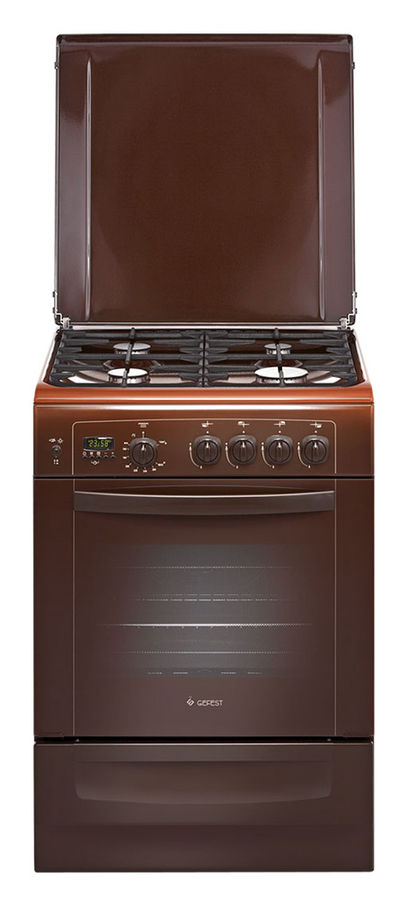 Газовая плита GEFEST 6100-04 0001,  газовая духовка,  коричневый [пг 6100-04 0001]