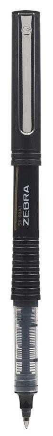 Ручка-роллер Zebra SX-60A7 0.7мм стреловидный пиш. наконечник черный