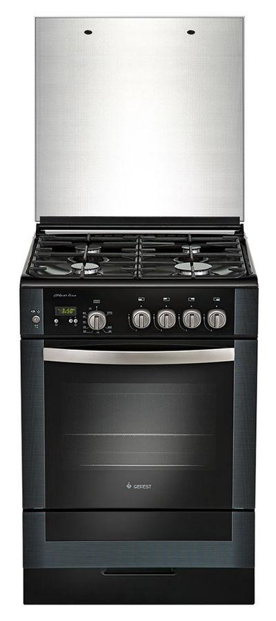 Газовая плита GEFEST ПГ 6300-03 0046,  газовая духовка,  черный