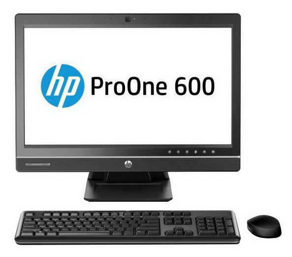Моноблок HP ProOne 600 G1, Intel Core i5 4590S, 4Гб, 1000Гб, AMD Radeon HD 7650A - 2048 Мб, DVD-RW, Windows 7 Professional, черный [j7d63ea]