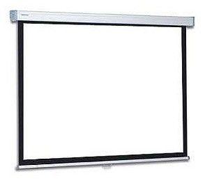 Экран PROJECTA SlimScreen,  160х160 см, 1:1,  настенно-потолочный