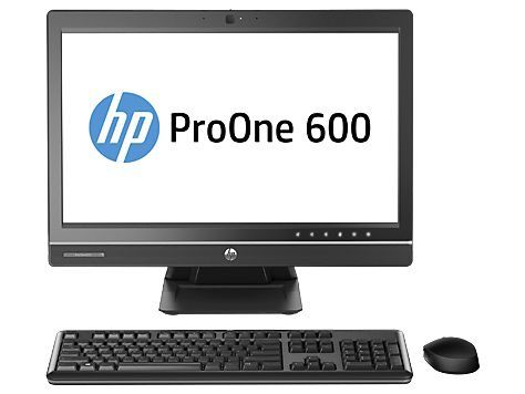 Моноблок HP ProOne 600 G1, Intel Core i5 4590S, 4Гб, 500Гб, Intel HD Graphics 4600, DVD-RW, Windows 7 Professional, черный [j7d87ea]