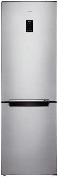 Холодильник SAMSUNG RB33J3200SA,  двухкамерный, серебристый [rb33j3200sa/wt]