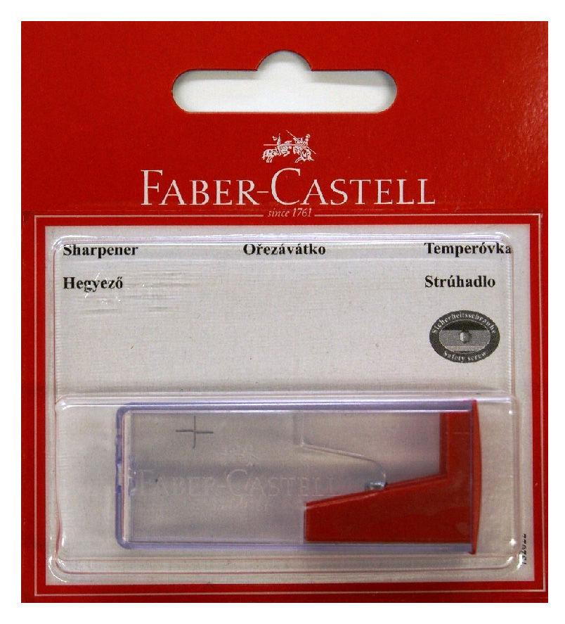Точилка для карандашей FABER-CASTELL 263222  механическая,  ассорти