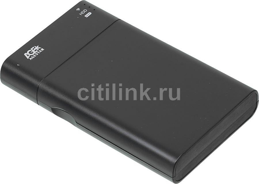 Внешний корпус для  HDD/SSD AGESTAR WNS2BP, черный