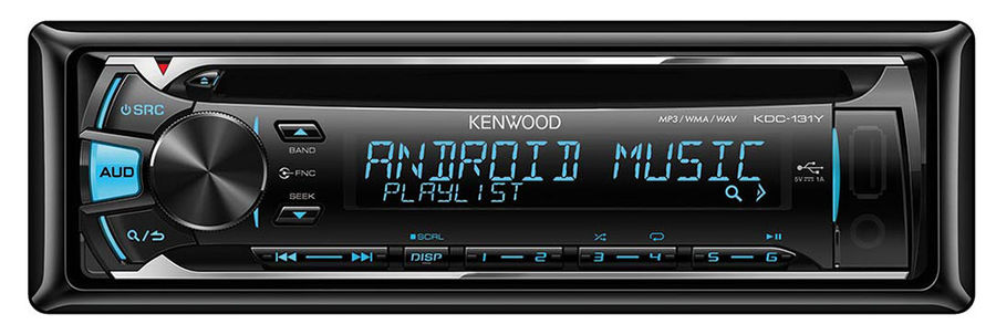 Автомагнитола KENWOOD KDC-131Y,  USB