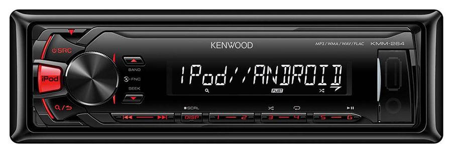 Автомагнитола KENWOOD KMM-264,  USB