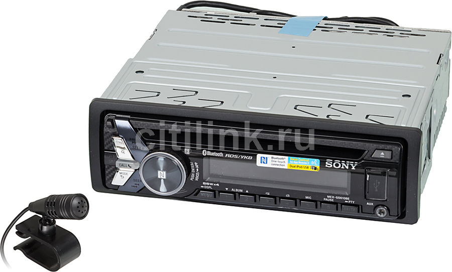 Автомагнитола SONY MEX-GS610BE,  USB