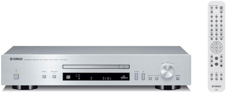Плеер CD YAMAHA CD-N301,  серебристый [acds300s]