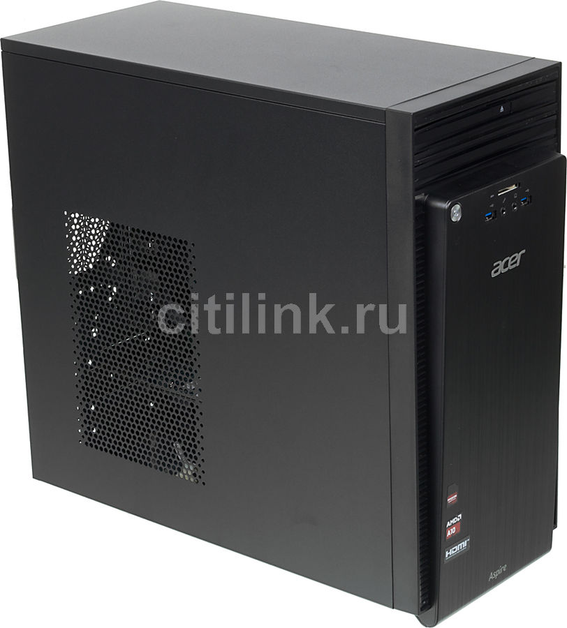 Компьютер  ACER Aspire TC-220,  AMD  A10  7800,  DDR3 6Гб, 1000Гб,  AMD Radeon R7 240 - 2048 Мб,  DVD-RW,  CR,  Windows 8.1,  черный [dt.sxrer.012]