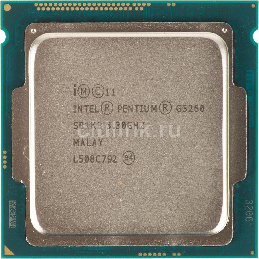 Процессор INTEL Pentium Dual-Core G3260, LGA 1150 OEM [cm8064601482506s r1k8]