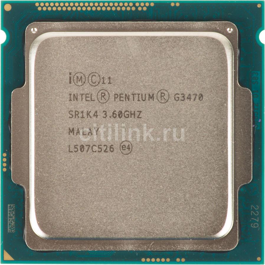 Процессор INTEL Pentium Dual-Core G3470, LGA 1150 OEM [cm8064601482520s r1k4]
