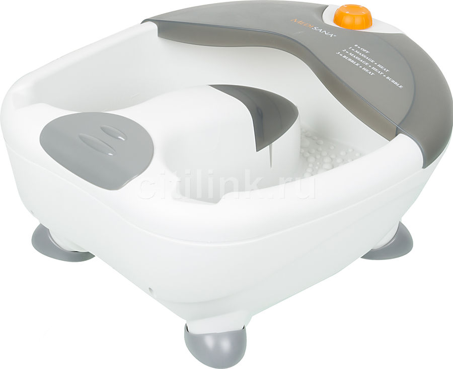 Гидромассажная ванночка для ног MEDISANA WBB, белый, серый