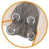 Массажер для шеи MEDISANA NM 860,  серый вид 2