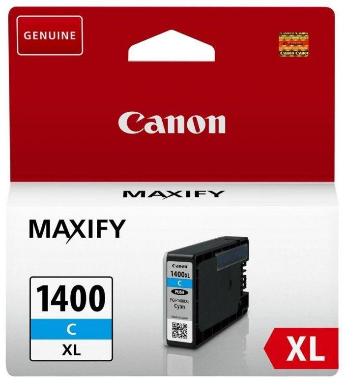 Картридж CANON PGI-1400XLC 9202B001,  голубой