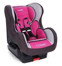 Автокресло детское NANIA Cosmo SP LX (agora framboise), 0+/1, розовый