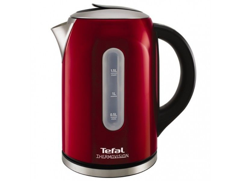 Чайник Tefal KI410530 1.5л. 2400Вт красный (металл) (отремонтированный)
