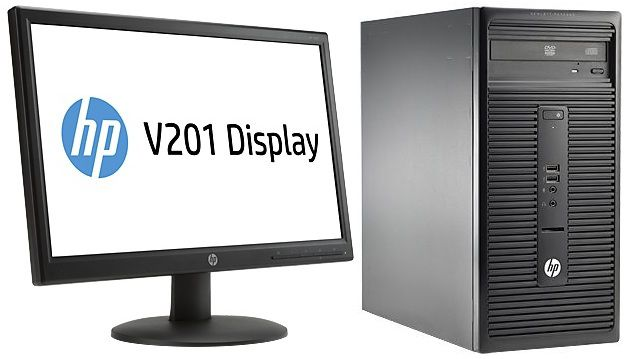 Комплект  HP 280 G1,  Intel  Core i3  4160,  DDR3 4Гб, 500Гб,  Intel HD Graphics 4400,  DVD-RW,  Free DOS,  черный [l9t74es]