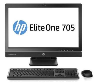 Моноблок HP EliteOne 705 G1, AMD A4 Pro 7350B, 4Гб, 500Гб, AMD Radeon R5, DVD-RW, Ubuntu Lux, черный [l9w60es]