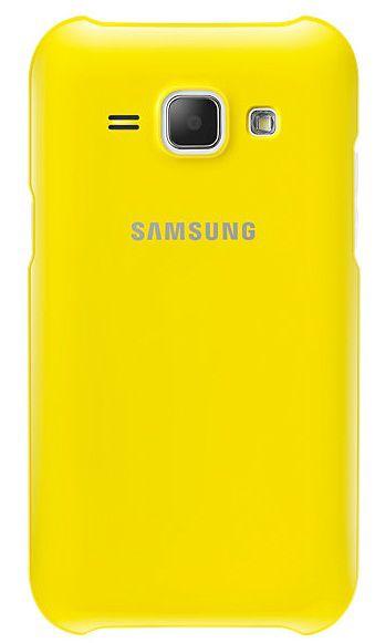 Чехол (клип-кейс) SAMSUNG EF-PJ100BYEGRU, для Samsung Galaxy J1, желтый
