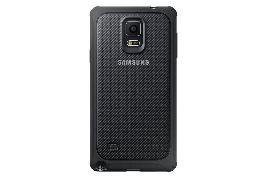 Чехол (клип-кейс) SAMSUNG P.Cover, для Samsung Galaxy Note 4, серый [ef-pn910bsegru]