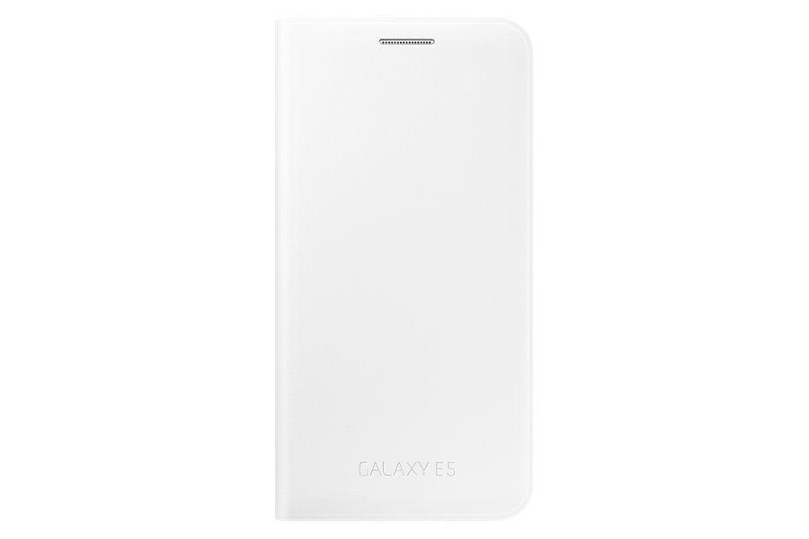 Чехол (флип-кейс) SAMSUNG Flip Wallet, для Samsung Galaxy E5, белый [ef-we500bwegru]