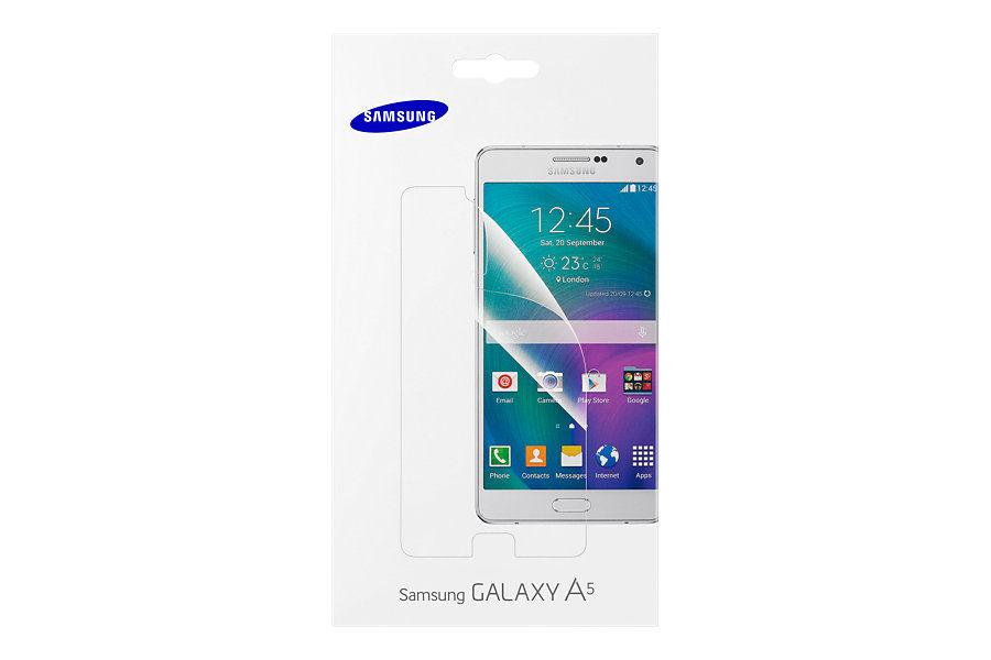 Защитная пленка SAMSUNG ET-FA500CTEGRU  для Samsung Galaxy A5,  прозрачная, 1 шт