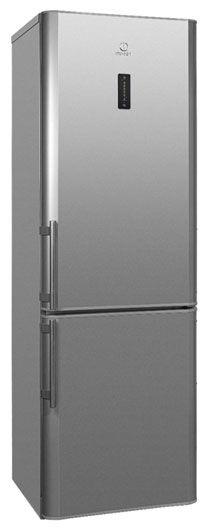Холодильник INDESIT BIA 18 NF C S H,  двухкамерный,  серебристый