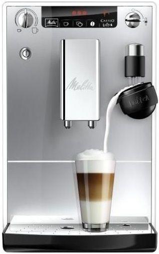 Кофемашина MELITTA Caffeo Lattea,  белый/серебристый
