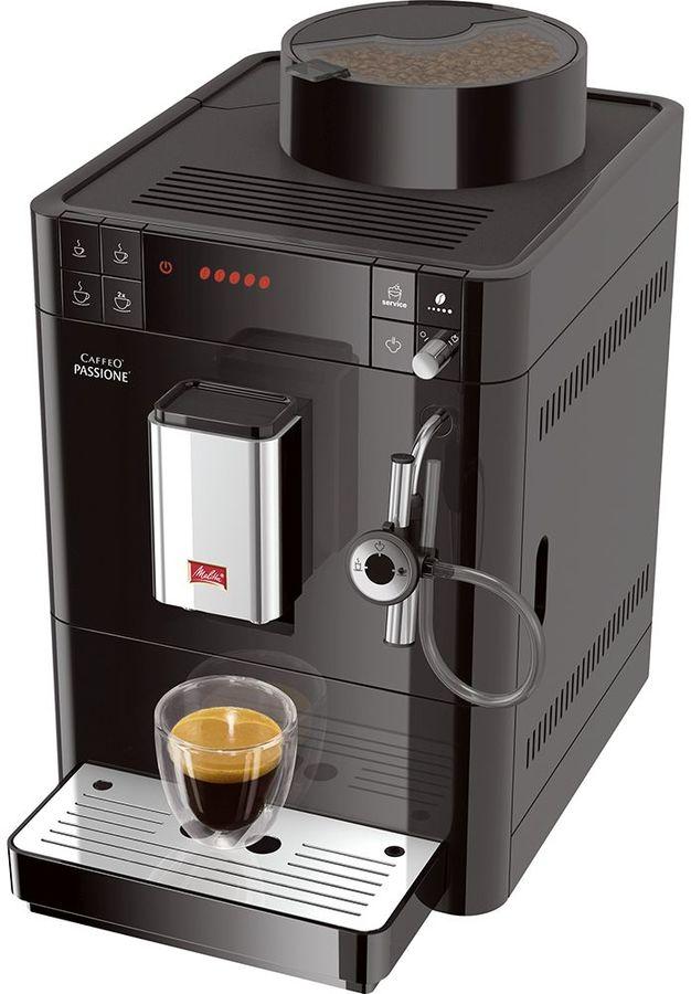Кофемашина MELITTA Caffeo Passione,  черный