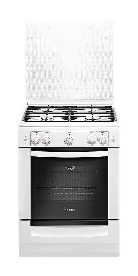 Газовая плита GEFEST ПГ 6100-01 0002,  газовая духовка,  белый