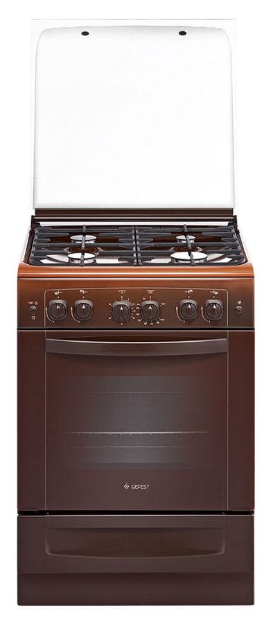 Газовая плита GEFEST 6100-02 0003,  газовая духовка,  коричневый [пг 6100-02 0003]