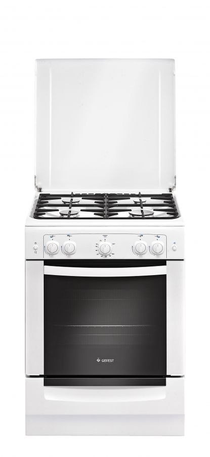 Газовая плита GEFEST 6100-02 0009,  газовая духовка,  белый [пг 6100-02 0009]