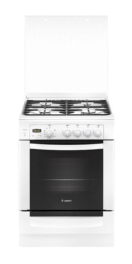 Газовая плита GEFEST 6100-03 0002,  газовая духовка,  белый [пг 6100-03 0002]