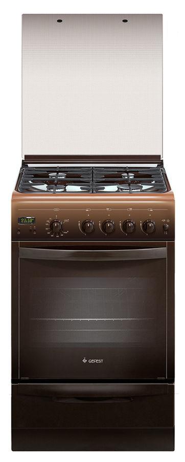 Газовая плита GEFEST ПГ 5100-03 0003,  газовая духовка,  коричневый