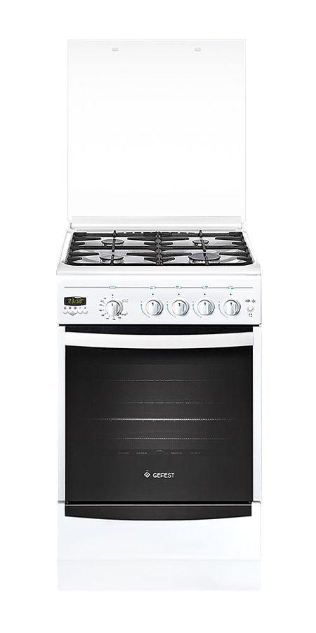 Газовая плита GEFEST ПГ 5100-04,  газовая духовка,  белый