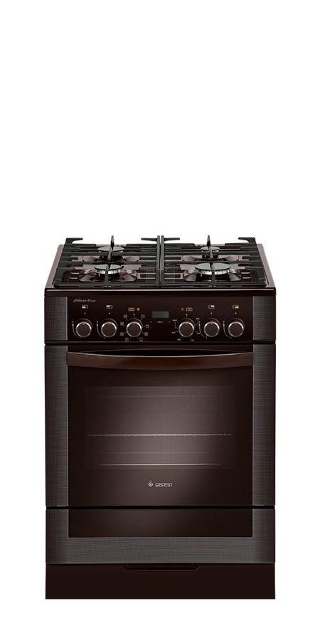 Газовая плита GEFEST ПГЭ 6502-03 0045,  электрическая духовка,  коричневый