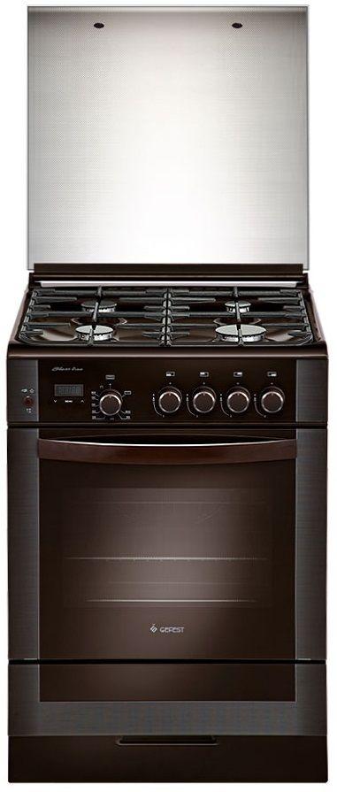 Газовая плита GEFEST ПГ 6300-03 0047,  газовая духовка,  коричневый