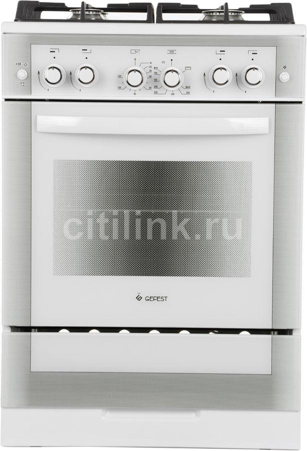 Газовая плита GEFEST ПГ 6500-02 0042,  газовая духовка,  белый