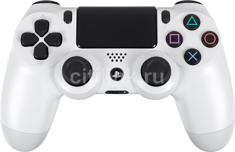 Беспроводной контроллер SONY Dualshock 4, для  PlayStation 4, белый [ps719453314]