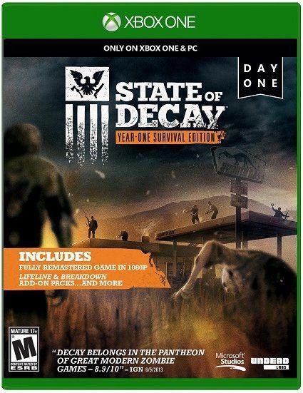 Игра MICROSOFT State Of Decay для  Xbox One RUS (субтитры)